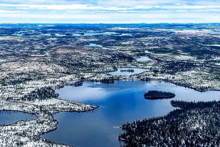 Photo d'un paysage du nord du Québec